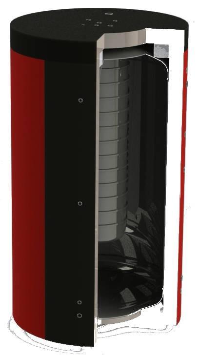 Теплоаккумулятор (бак аккумулятор) для систем отопления KHT EAB-00-2000/250