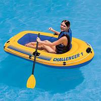 """Надувная лодка """"Challenger 1"""" Intex 68365 в Украине"""