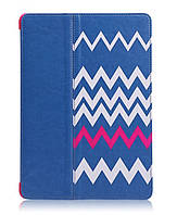 Чехол-книжка для iPad Air Miracase Heartbeat case, blue