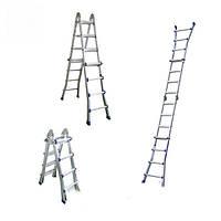 Телескопическая шарнирная лестница WERK LM4416DR (4x4)