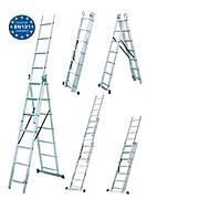 Универсальная лестница WERK LZ3208B (3х8) в Украине
