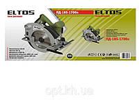Пила дисковая Eltos ПД-185-1700Л