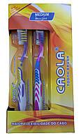 Зубная щетка  CAOLA с силиконовым ворсом для чистки языка без футляра  №808, фото 1