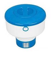 Поплавок - дозатор для химических таблеток Intex 29041 в бассейн