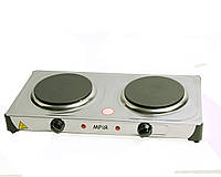 Электроплита МРіЯ ПЭН-2Д 2х конфорочная(диски,блины) нержавейка
