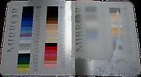 Цвета натяжных потолков в каталоге компании MIRROR
