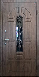 """Вхідні двері для вулиці """"Портала"""" (Елегант NEW Vinorit) ― модель Елегант-4"""