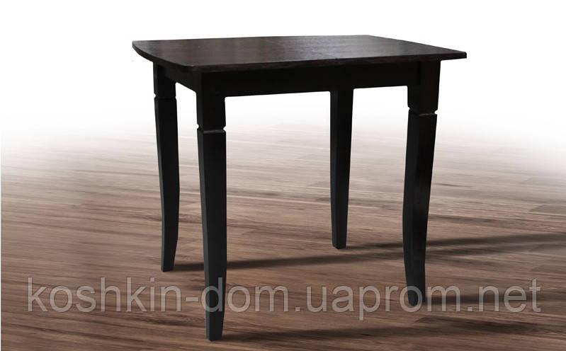 Стол обеденный Линда венге шпон дуба 80(+35)*65 см