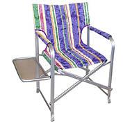 """Раскладное кресло """"Режиссер"""" с полочкой"""