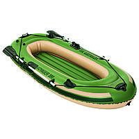 Надувная лодка с веслами  Voyager 300 Bestway      . t