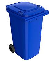 Пластиковый мусорный контейнер для ТБО 240л