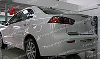 Спойлер Mitsubishi Lancer X (спойлер на крышку багажника Митсубиси Лансер 10)