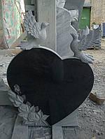 """Уникальная скульптура из гранита """"Сердце"""""""