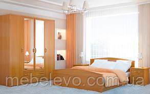 Гербор Валерия кровать 90  845х1060х2090мм ольха , фото 2