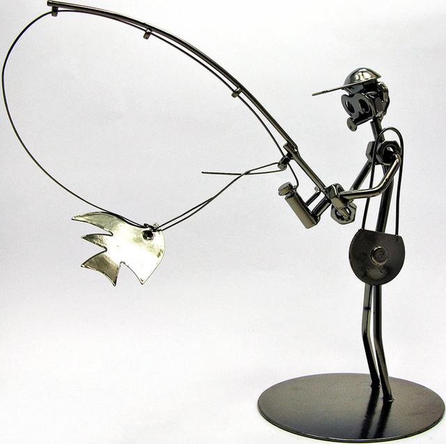 статуэтка техно-арт