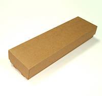 Коробка подарочная из крафт картона 260x70x40 мм.