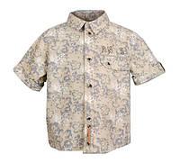 Стильная детская рубашка (шведка) для мальчика 92-98 см
