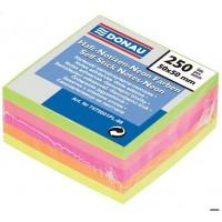 Набор: 2 блока бумаги для заметок Donau 76х76мм / 100л. + закладки