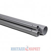 Труба напорная ПВХ, 250 мм, PN 16 250 х 14,8 х 6000 мм Pimtas