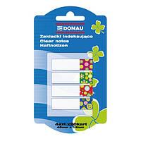 Закладки пластиковые с клейким слоем DONAU DESIGN