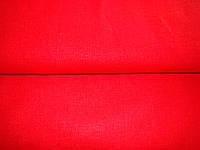 Ткань льняная (красный цвет)