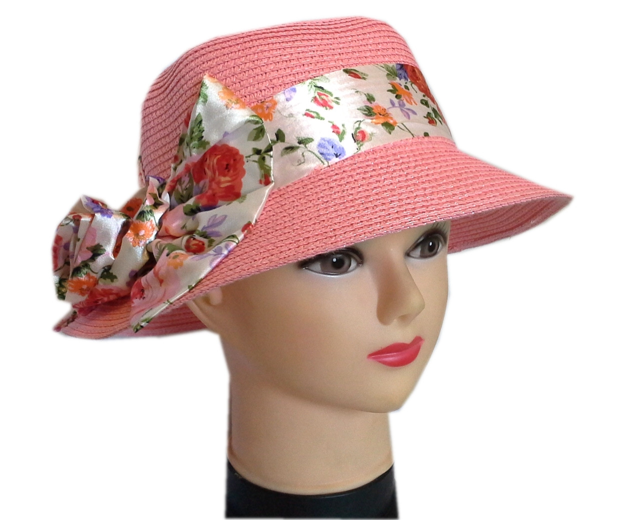 Женская  шляпа бант