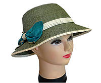 Шляпа летняя бант