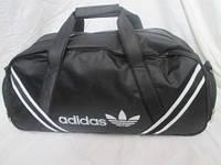 Спортивная мужская сумка черного цвета