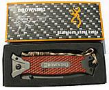 Нож полуавтомат Browning 364, дерево, фото 4