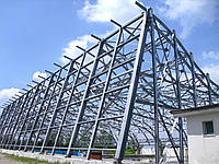Установка и монтаж металлических конструкций