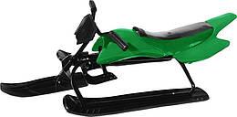 Санки-мотоцикл Kidigo Green