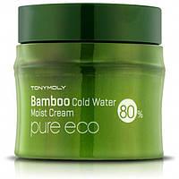 "Tony Moly Крем для лица ""Pure Eco Bamboo Icy Water Moisture Cream"", 200 мл, 8806358550554"