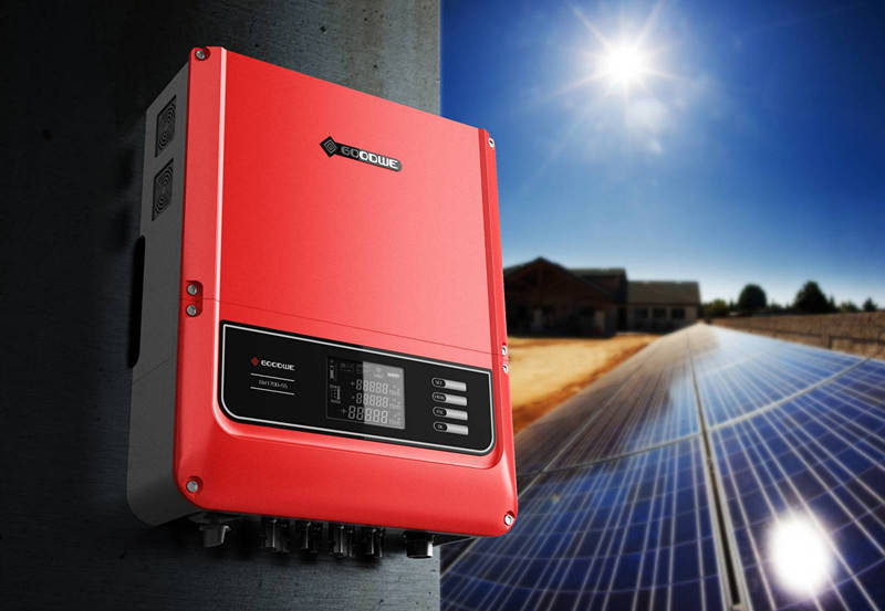 Сетевой  инвертор Goodwe GW10K-DT / 400VAC / Power -10500W / MPPT 2x11A / WiFi, фото 1