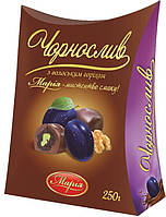 Чернослив с грецким орехом в шоколаде, 250грам