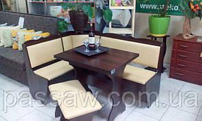 Кухонный уголок с раскладным столом Лорд