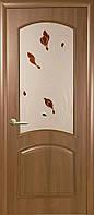 """Двери межкомнатные Новый Стиль """"Антре""""  рисунок 3 золотая ольха"""
