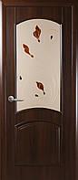 """Двери межкомнатные Новый Стиль """"Антре""""  рисунок 3 каштан"""