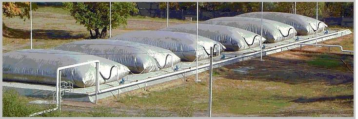 Газгольдер мягкий для биогаза 50 м.куб.