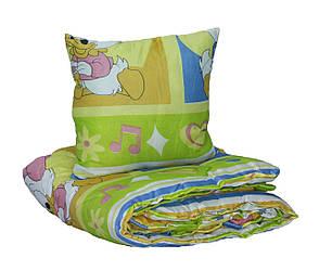 Одеяло синтепоновое Чарівний сон Детское 110*140 с подушкой, фото 2