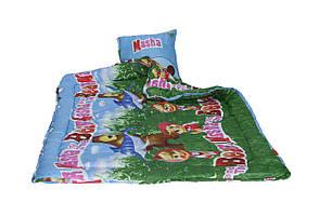Одеяло синтепоновое Чарівний сон Детское 110*140 с подушкой, фото 3