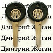 Ключ для VOLKSWAGEN (фольксваген)  HU 49 , без места под чип