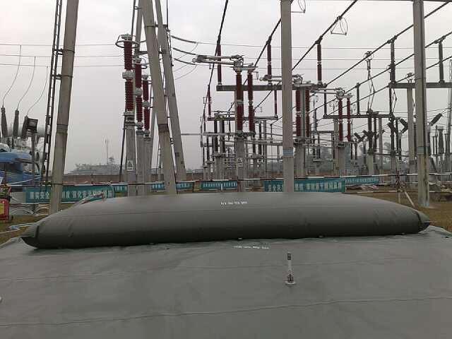 Гибкий резервуар для ГСМ 7000 л.