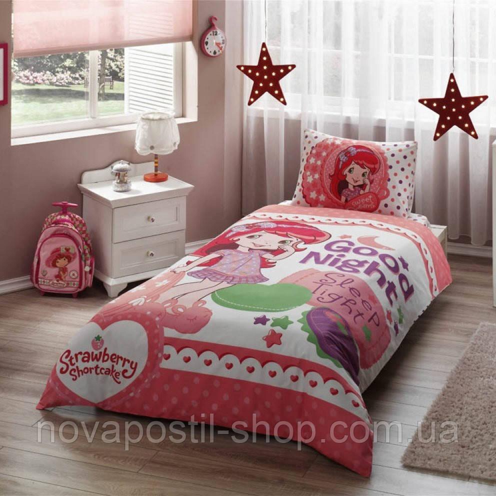 Комплект подросткового постельного белья STRAWBERRY SHORTCAKE GOOD NIGHT