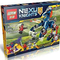 """Конструктор Lepin 14002 Nexo Knight (аналог Лего) """"Ланс и его механический конь"""", 255 дет"""