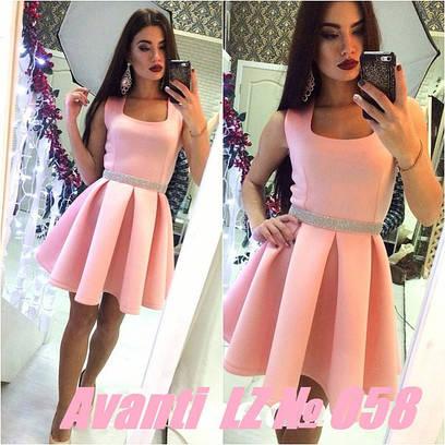 Женское летнее платье №101-058