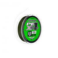 Шнур ForMax Avanger Feeder PE X4 110м 0.13мм Moss Green