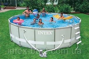 Каркасный бассейн Intex 28334 (54958) Ultra Frame , фото 2