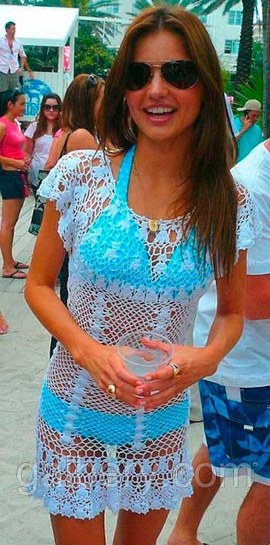 ebab1d25f1e54 Пляжное Платье Ажурное — в Категории