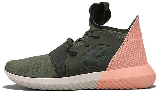 46279a7d Женские Кроссовки Adidas Tubular Defiant Color Contrast Haki Pink ...