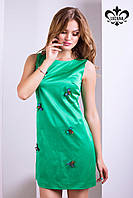 """Женское платье """"Майя"""" (зеленый), фото 1"""